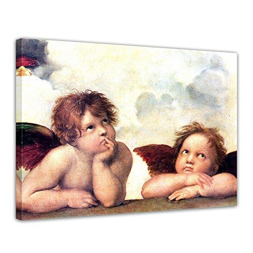 Bilderdepot24 Kunstdruck – Alte Meister – Raffael – Engel – Detail Sixtinische Madonna