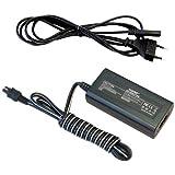 HQRP AC Chargeur pour Sony HandyCam AC-L20 L20A L20B AC-L25 L25A L200C DCR-SX41 SR40 SR42 SR44 SR88 HC21 HC28 DVD650