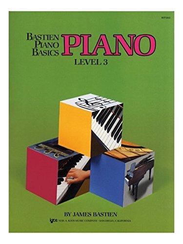 Bastien Piano Basics: Level Three por Various