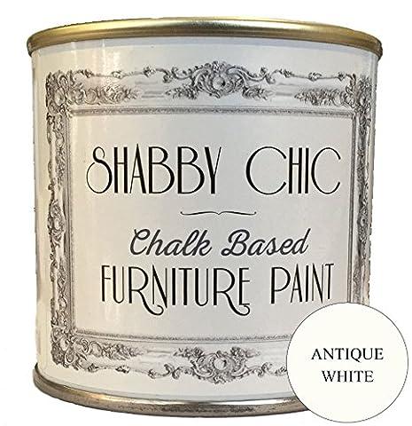 Blanc Ancien (Antique White) Base Et Peinture A La Craie
