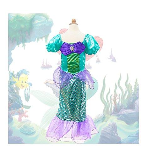 Imagen de ariel la sirenita disfraz inspirado 1 a 9 años  120 4 a 6 años