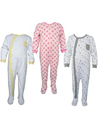 Teddy's Choice 100% Cotton Multi color 3 Combo Kid's Romper for 18-24 Months :Modle-019