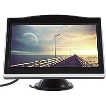 Coche del monitor de techo 5.0 pulgadas a color TFT LCD de pantalla de DVD VCD v¨ªdeo PAL / NTSC de entrada del sistema de v¨ªdeo