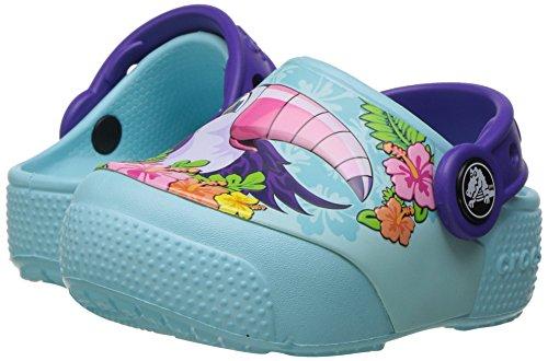 Crocs Kinder Unisex 204133 Clogs, Blau (Toucan Ice Blue), 19/20 EU -