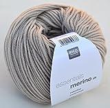 Merinowolle Babywolle Rico Merino dk Fb. 50 sand zum Stricken