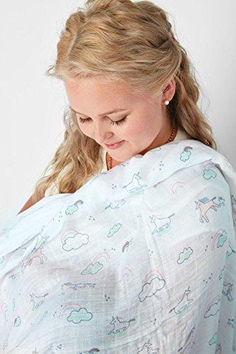 Angel Dear Bamboo Swaddling Blankets-Starry Night