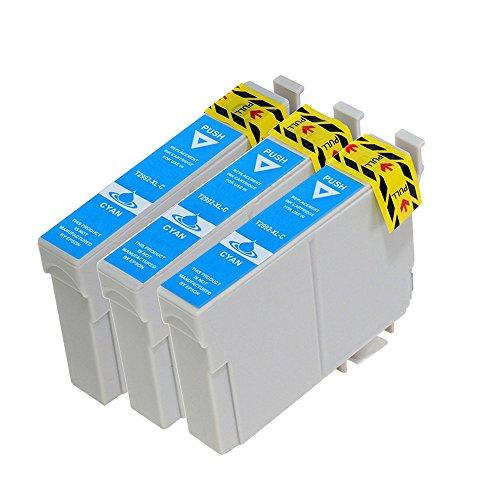 vivink 3PK rigenerate cartucce d' inchiostro per Epson 29X L Ciano T2992compatibile con Epson Expression Home XP-235XP-332XP-335xp-442con chip