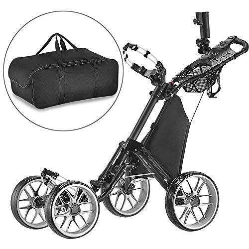Caddytek Chariot de Golf Pliant One-Click, Chariot de Golf 4...