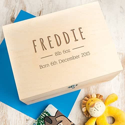 Baby Gifts For Hippie Parents : Personalised baby memory box for boy or girl christmas