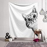 ZHJDD Tapiz Tapicería Decorativa Personalizada, Manta Decorativa para el hogar, Pintura de Tela Decorativa de la Pared, Peso Ligero, Duradero (Color : B, Size : 150×100cm)