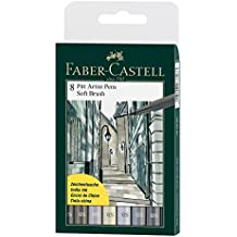 Faber-Castell 167808 - Tuschestift Pitt artist pen SB, 8er Set
