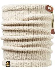 Original Buff - Braga de cuello (térmica), adulto, Beige (Off-White), Talla única