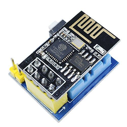 ESP8266 ESP-01 ESP-01S DHT11 Temperatur Luftfeuchtigkeit Sensor Modul Wireless WiFi nodemcu Smart Home IOT für Arduino DIY Kit, With ESP-01/01S (ESP01S+DHT11 Temperatur Modul)