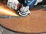 Bosch Pro Fächerschleifscheibe Expert for Metal zum Schleifen von Metall  für Winkelschleifer (Ø 125 mm, Körnung 120, gewinkelt) - 3