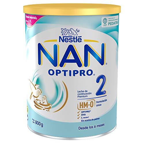 NAN OPTIPRO 2, Leche continuación bebé - 800 gr