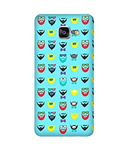 Beard-Colour-6 Samsung Galaxy A3 Case