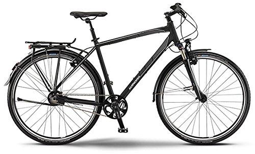 Winora Labrador Herren-Trekkingrad 14-Gang Rohloff Nabenschaltung schwarz/grau/weiß matt RH 56 Modell 2015