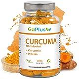 CURCUMA Hochdosiert, Natürliches Kurkuma + 95% ig Curcumin Extrakt + Schwarzer Pfeffer Extrakt. - Cholesterinspiegel + Antioxidans + Entzündungshemmend, 120 Kapseln in 1 Monatsvorrat