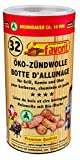 Favorit Anzündwolle für Kamin, 32 Stück, Anzünder, Ofenanzünder, Kohleanzünder, Anzündwürfel – 1256