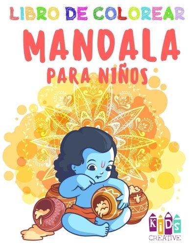 Descargar Libro Libro para colorear Mandala para niños pequeños ~ Fácil mandalas: figuras, pájaros, peces, niñas, ratones, leones, elefantes, jirafas, hippopotamus, ... castillos y otros (Volúmen 3) 2017: Volume 3 de Kids Creative Spain