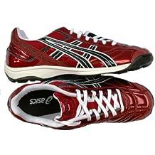 Asics - Zapatillas de fútbol Sala para Hombre Rojo Bordeaux dcb5adf496a44