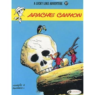 Lucky Luke - tome 17 Apache Canyon (17)