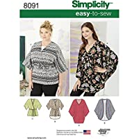Simplicity Misses Kimonos in Various Styles Sewing Pattern, Paper