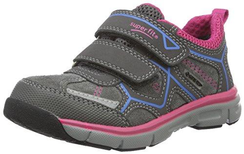 Superfit LUMIS 700411, Mädchen Sneakers, Grau (STONE KOMBI 06) Grau (STONE KOMBI 06)