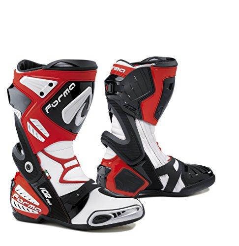 Stivali Forma Ice Pro Colore Bianco/Rosso Taglia 42
