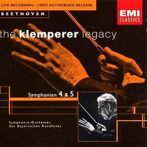 The Klemperer Legacy (Beethoven: Sinfonie 4 und 5)