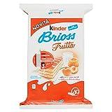Kinder Brioss Frutta - 1 Confezione da 10 Merende