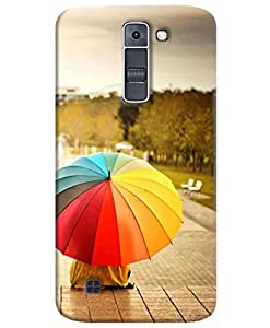 FurnishFantasy 3D Printed Designer Back Case Cover for LG K7