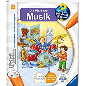 51oaKwvcWUL. SS300  - tiptoi® Die Welt der Musik (tiptoi® Wieso? Weshalb? Warum?, Band 3)