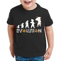 Parodie Dragon Ball-Evolutions of Goku T-Shirt albertocubatas Camisetas La Colmena 4003