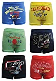 #7: BODYCARE Printed Boys Trunk Pack of 6(Color & Print May Vary)
