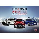Iscrizione abbonamento Leasys CarCloud Metropolis (500L, 500X, Tipo 5p e Wagon)