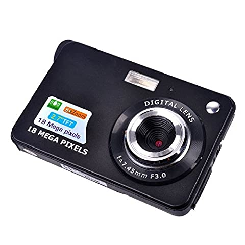 PYRUS Mini Digital Camera with 2.7 inch TFT LCD Display