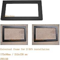 Autostereo 11-440 mascherina per installazione autoradio universale per autoradio 2 DIN pannello autoradio Stereo
