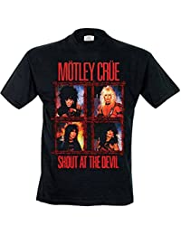 Collector's Mine Mötley Crüe-Shout Wire - T-shirt - Homme