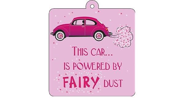 Fairy Dust-Elven Dust Sign with Suction Cup Car Wobbler
