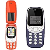 I Kall Combo (K3312 Red + K71 Dark Blue) Feature Mobile Phone With 101 Days Replacement Warranty