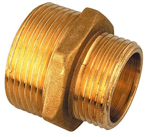 Réduction Mâle Raccords - Mâle laiton - Filetage 26 x 34 mm - 33 x 42 mm - Vendu par 1