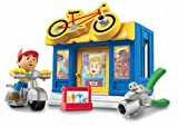 Fisher-Price Handy Manny Construction Bicycle Shop Playpacks by Fisher-Price
