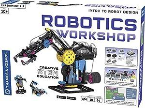 Thames & Kosmos 620377 Robotics Workshop, Modelos para ser Fabricado, Kit de Experimento, Edades 10 +, Multi