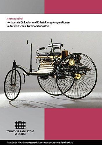 Horizontale Einkaufs- und Entwicklungskooperationen in der deutschen Automobilindustrie