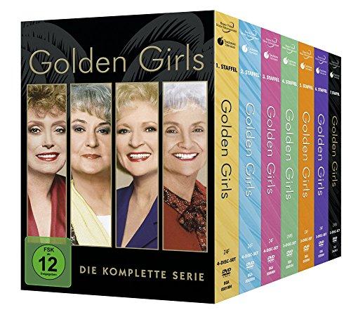 Golden Girls - Staffel 1-7/Komplettbox [24 DVDs] (Disney Box-set Walt)