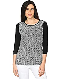Annabelle by Pantaloons Women's Square Neck Top