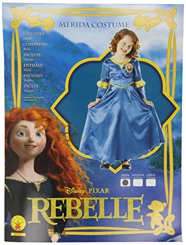 rubies-r881877-costume-merida-classic-taglia-s