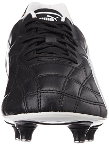 Puma Classico Sg, Chaussures de Football Homme Noir (Black/White/Puma Gold)