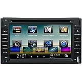 landnavi® Écran tactile GPS pour voiture lecteur DVD–6.2pouces écran, 2DIN, 3D Interface, radio FM, Bluetooth, Windows CE 6.0, GPS ln509